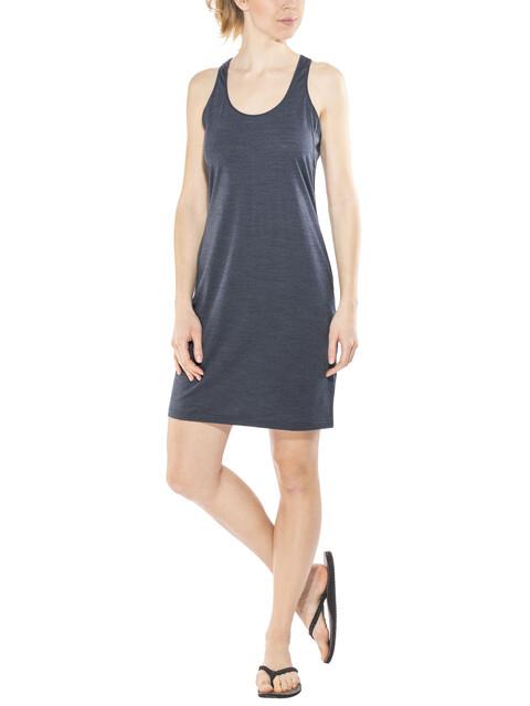 super.natural Essential Racer - Vestidos y faldas Mujer - gris/azul